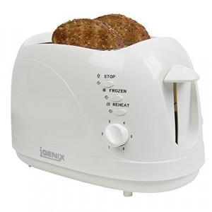 2 Slice Toaster White Igenix