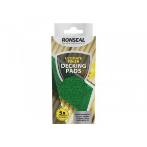 Ronseal Ultimate finish Decking Paint Pad Refill - Set of 2