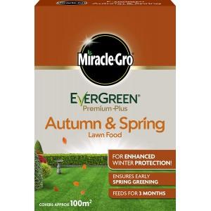 EverGreen Evergreen Premium Plus Autumn & Spring Lawn Food 2kg - 100m2