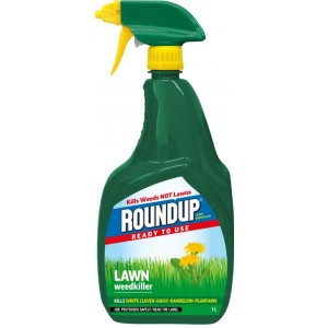Roundup Lawn Weedkiller Ready to Use 1 Litre