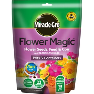Miracle-Gro Flower Magic Multi Coloured Pouch For Pots