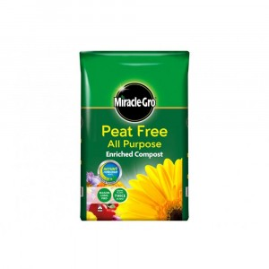 Miracle-Gro All Purpose Peat Free Compost 10L