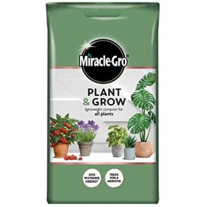 Miracle-Gro Plant & Grow Lightweight All Purpose Plant Compost 6 Litre