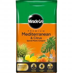 Miracle-Gro Premium Mediterranean & Citrus Compost 6 Litre