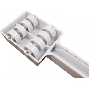 Adjustable Appliance Rollers Plastic Pack of 2
