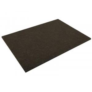 "Felt Gard Self-Adhesive Felt Furniture Pads 4.1/2 x 6"" Brown Pack 2"