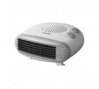 Warmlite Flat Fan Heater 2kW White