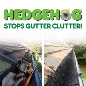 Easy Innovations Hedgehog Gutter Brush
