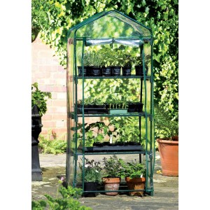 Apollo 4 Tier Mini Greenhouse