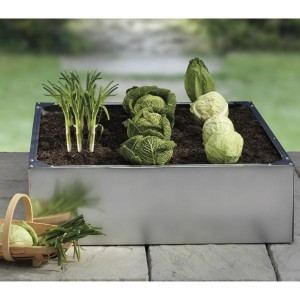 Galvanised Raised Bed 100 x 100 x 30cm