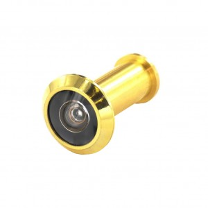 Securit Door Viewer 180 Degrees Polished Brass