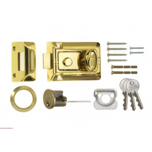 Era Traditional Nightlatch Brass Effect Body