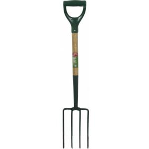 Ambassador Natural Ash Handle Carbon Steel Digging Fork