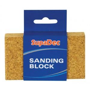 SupaDec Decorator Cork Sanding Block