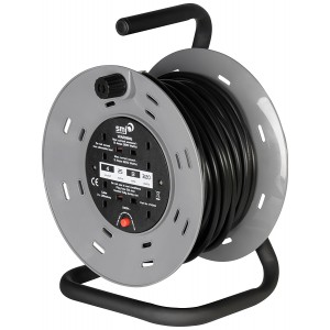 SMJ 13A 240V Heavy Duty Cable Reel with Thermal Cut-Out