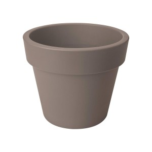 Elho Green Basics Top Planter 30cm Flowerpot - Taupe