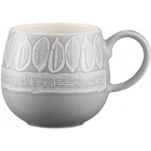 Mason Cash Grey Leaf Mug Impressions 350ml