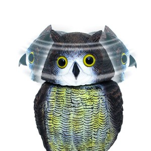 Defenders Wind Action Owl 17.3 x 19 x 39.5cm