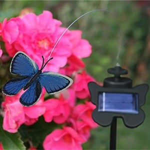 Smart Solar Flying Butterfly With Light