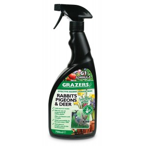 Grazers Rabbit Pigeon & Deer Repellent 750ml