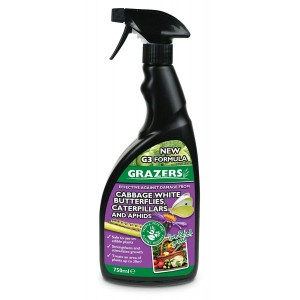 Grazers Caterpillars & Aphids Repellent 750ml