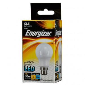Energizer LED GLS Warm White 806lm 2700k B22