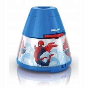 Philips Spiderman Night Light & Projector - 1 x 0.1 W Integrated LED