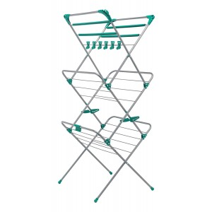 Addis Deluxe 3 Tier Airer - Metal - 10m