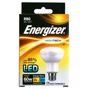 Energizer High Tech LED Reflector R80 11W (60W)