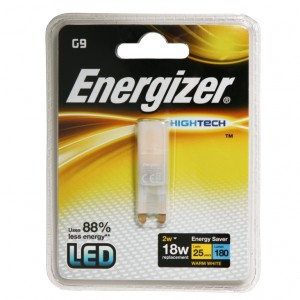 Energizer High Tech LED G9 Warm White