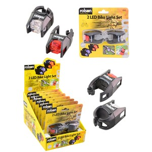 Rolson LED Cycle Light Set
