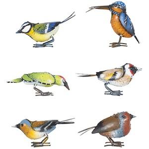 La Hacienda Metal Bird Ornament