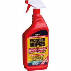 Everbuild Wonder Wipes Spray 1 Litre