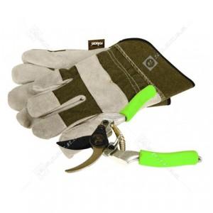 Rolson Rigger Gloves & Secateur Set
