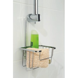 Croydex Shower Riser Rail Caddy