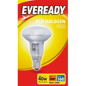 Energizer Eco R50 Clear E14 SES Boxed