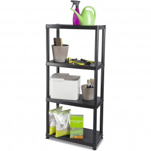 Addis 4 Tier Shelf Unit Plastic