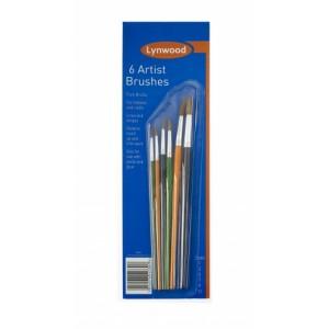 Lynwood Artist Brushes (6)LYN