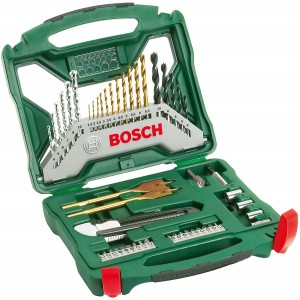 Bosch X-Line Accessory/Drill Bit Set of 50 Pieces