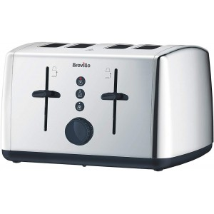 Breville 4-Slice Polished Stainless Steel Toaster