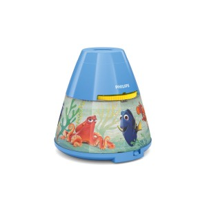 Philips Finding Dory Bedside Night Light and Projector - Blue