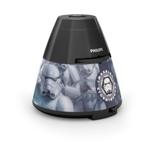 Philips Star Wars 4.5V Night Light & Projector - 0.1W - Black