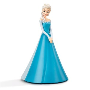 Philips Frozen Night Light Elsa Table Lamp  9.3 x 9.3 x 16.7cm Blue