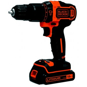 Black & Decker Hammer Drill With Kit Box