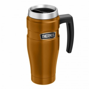 Thermos Stainless King Travel Mug 470ml Copper