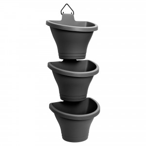 Elho Vertical Planter Anthracite