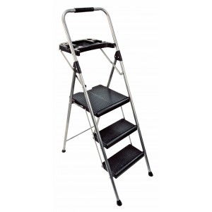 Abru 3-Tread Steel Project Step Stool