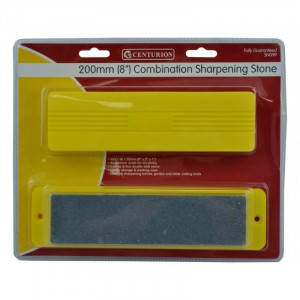 "Stanley 8"" Combination Sharpening Stone in Plastic Box"