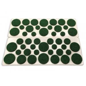 Felt Gard Felt Surface Protection Pads - Green Assorted Sizes Pack 46