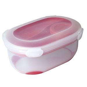 Addis Clip & Go Salad Fresh Food Lunch Box Cherry Red